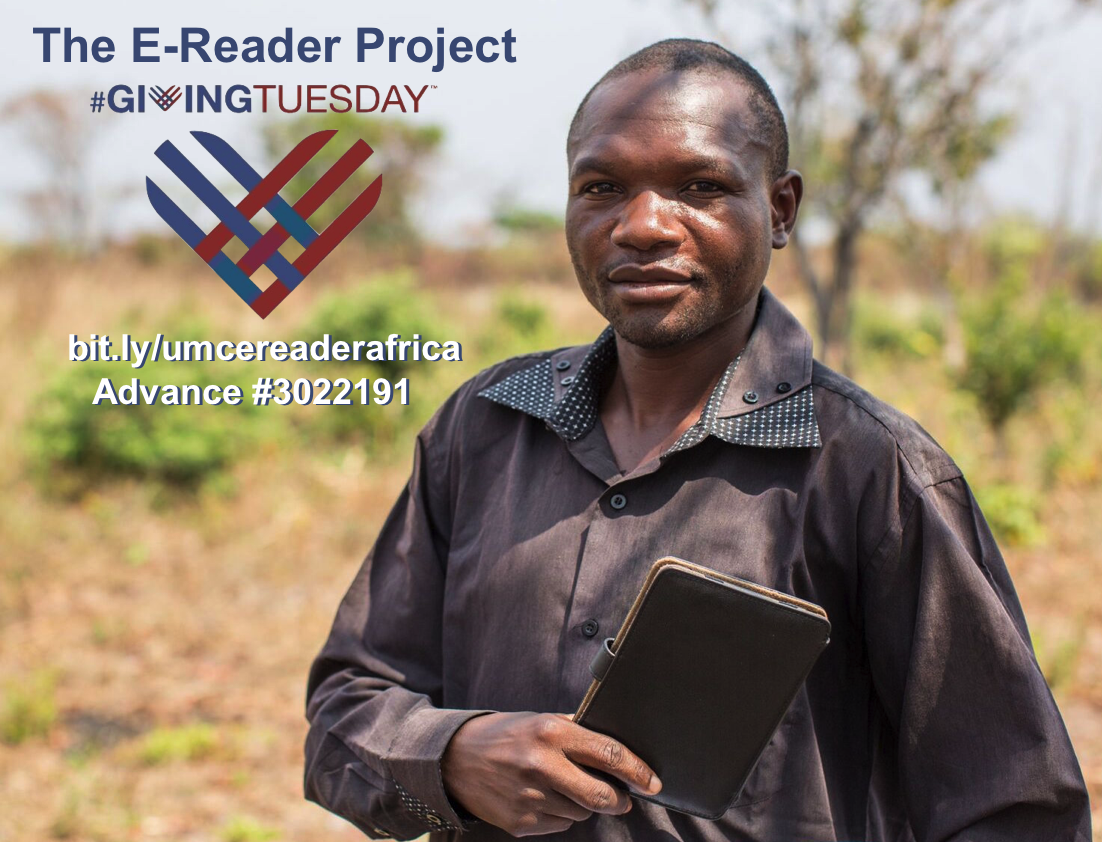 The E-reader Project. Giving Tuesday.