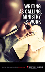 Writing as Calling, Ministry, & Work Booklet cover