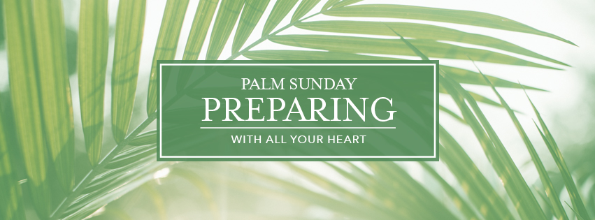 With All Your Heart: Preparing - over palm fronds