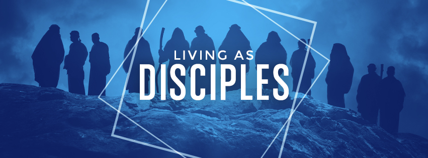 Living as Disciples: Silhouette of disciples