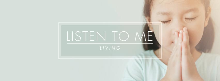 Living: BELIEVE IN ME - Girl praying