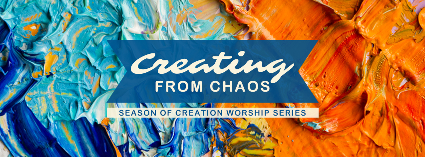 Season of Creation: Creation from Chaos - Painter palette