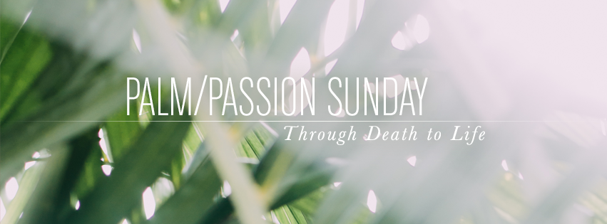 Passion/Palm Sunday Facebook cover