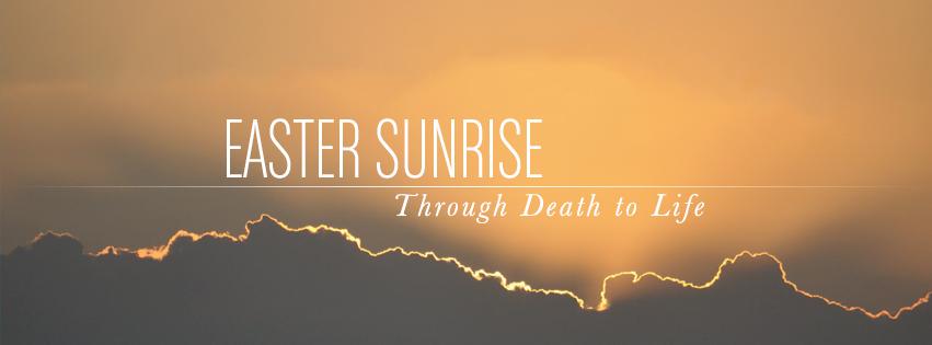 Easter Sunrise Facebook cover