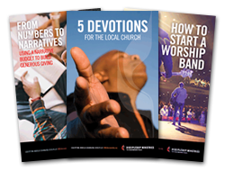 Covers of Three Resource Booklets - 2016 Leadership Ministries