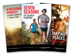 Covers of Three Resource Booklets - 2016 New Church Starts Path1