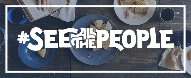 #SeeAllThePeople over table graphic