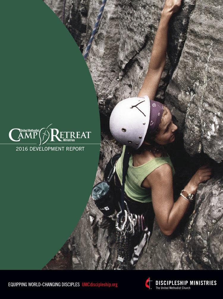 Camp Retreat 2016 Annual Report Cover