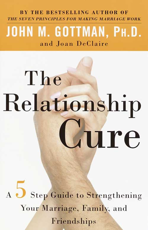 John M. Gottman and Joan Declaire - The Relationship Cure book cover
