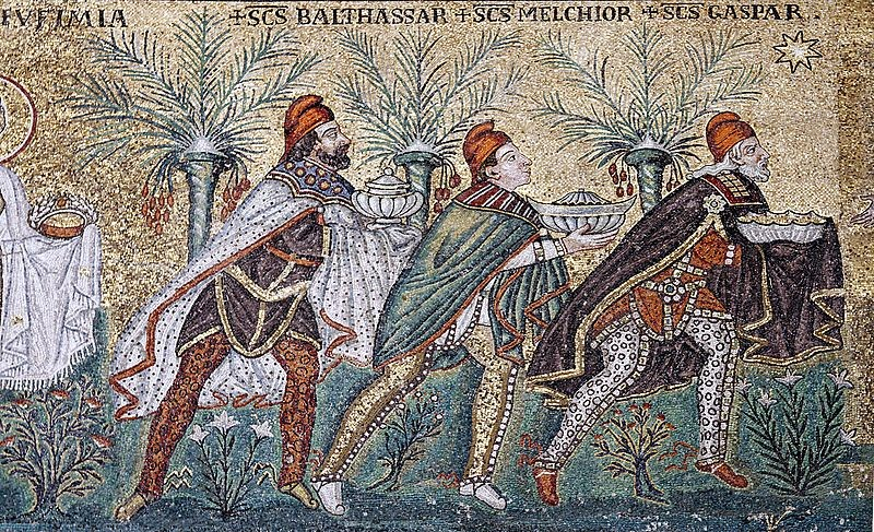 Mosaic of Magi - Photo by Jose Luiz Bernardes Ribeiro (Creative Commons)