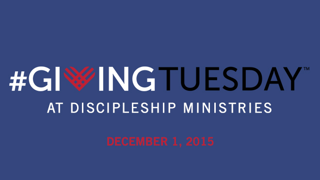 #GivingTuesday and Discipleship Ministries