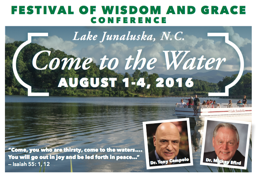 Festival of Wisdom and Grace - Lake Junaluska, NC - Dr. Tony Campolo and Dr. Mickey Efird
