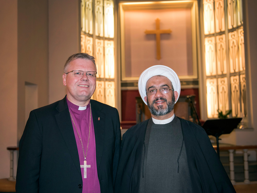 Bishop Alsted and Sheikh Mahmoud