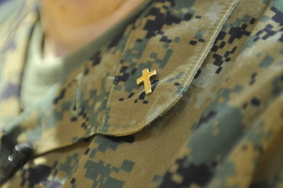 Military Chaplain - UMNS photo by Jay Malin