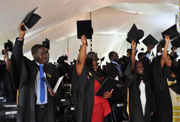 Africa University graduation ceremony