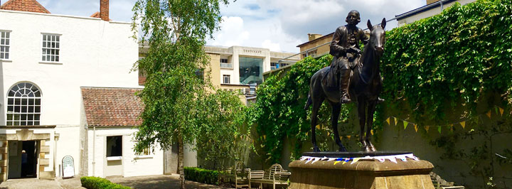 Wesley Pilgrimage — The Broadmead Courtyard