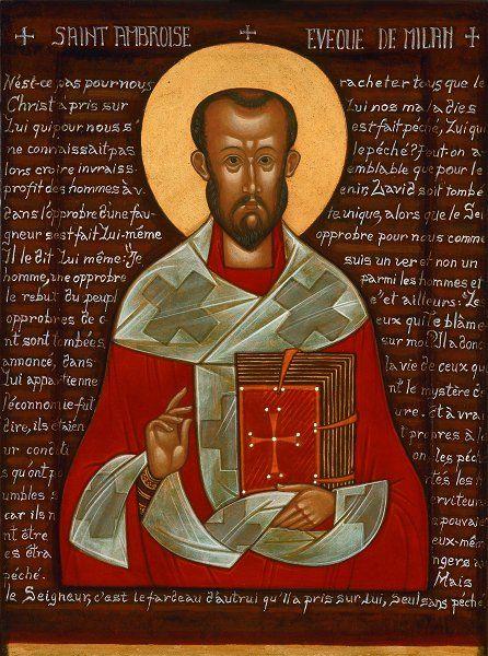 Ambrose, bishop of Milan