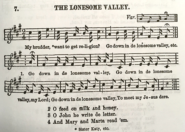 History of Hymns: 'Jesus Walked this Lonesome Valley' - Discipleship