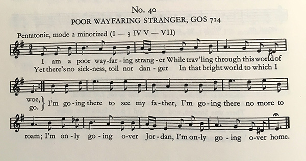 History of Hymns: 'Jesus Walked this Lonesome Valley