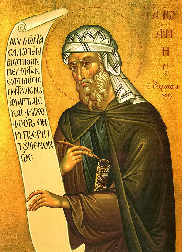 John of Damascus icon