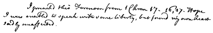 Newton's handwritten note