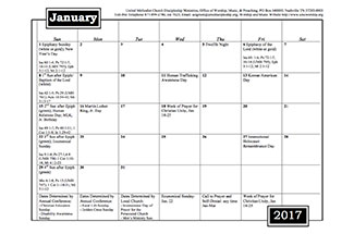 2017 worship music planning calendar discipleship for Youth group calendar template