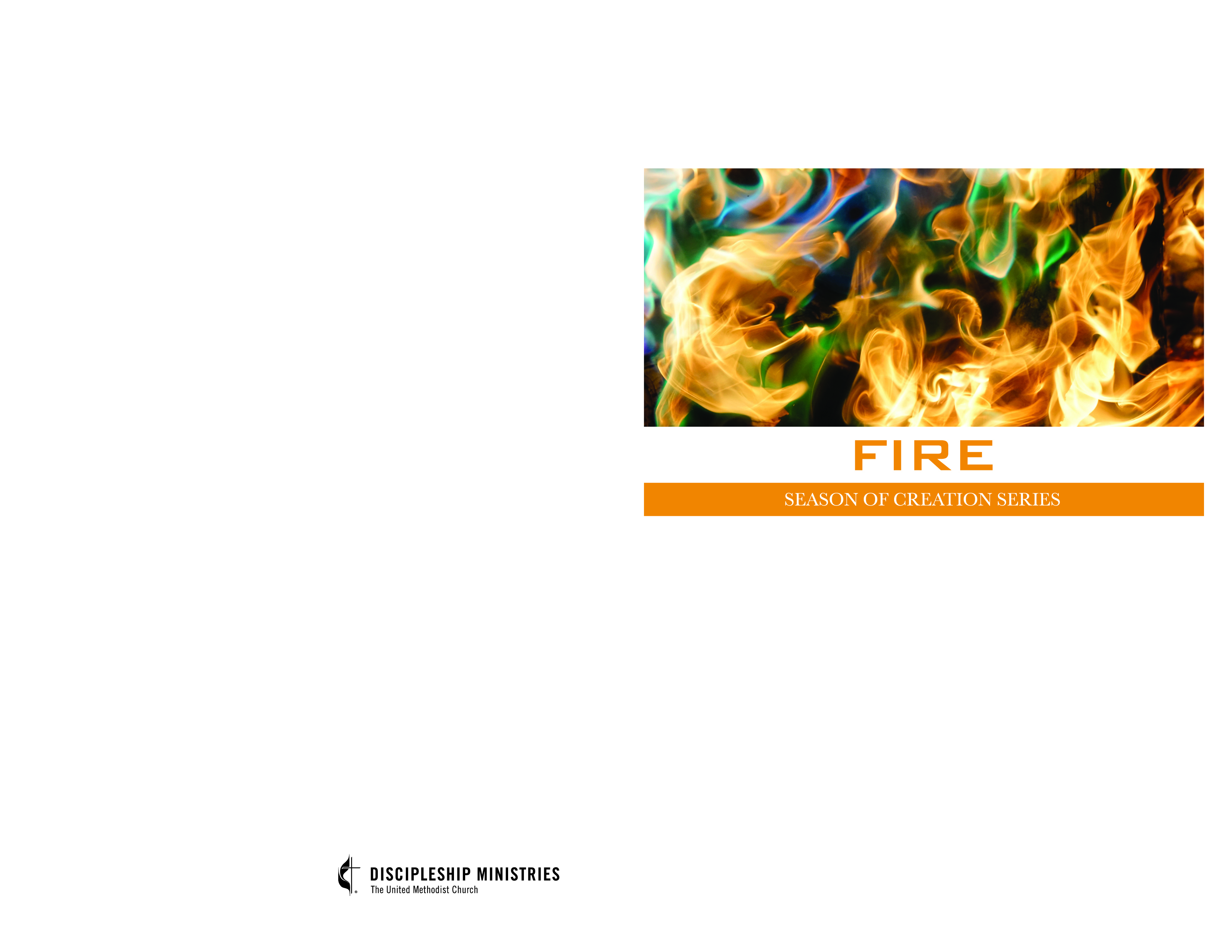 Graphics Downloads — Week One: FIRE. 8.5x11 Bulletin Cover ...
