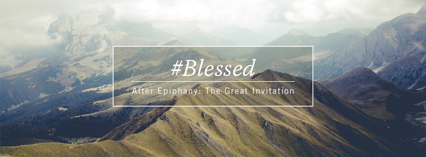 #Blessed - Fourth Sunday after Epiphany Facebook cover
