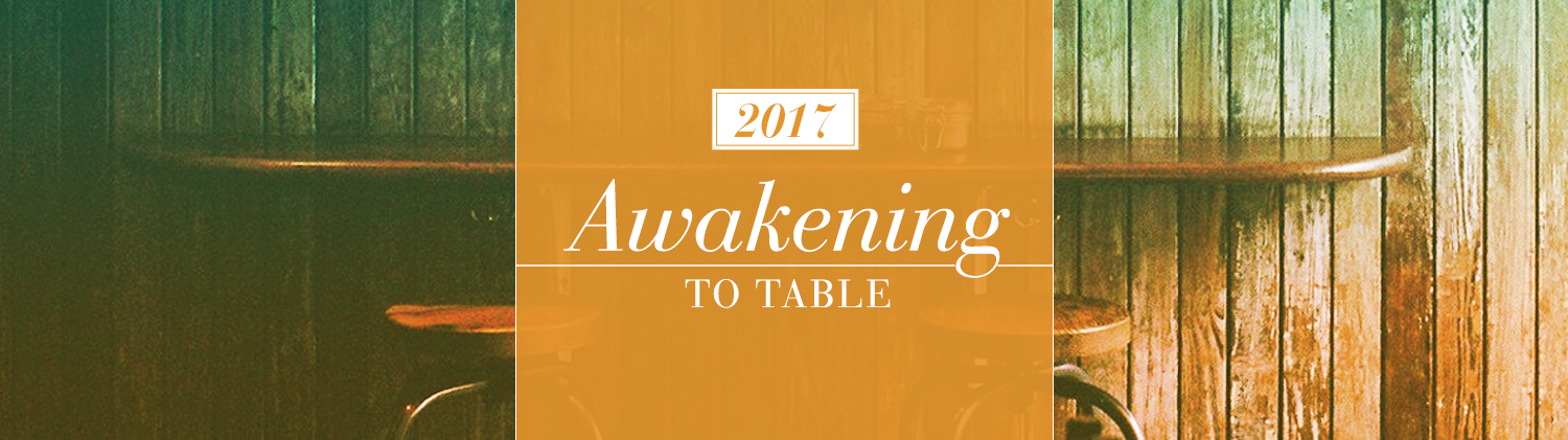 Awakening to the Table graphic