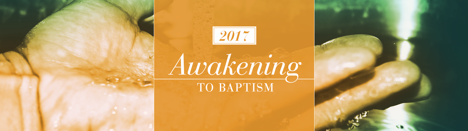 Awakening to Baptism graphic