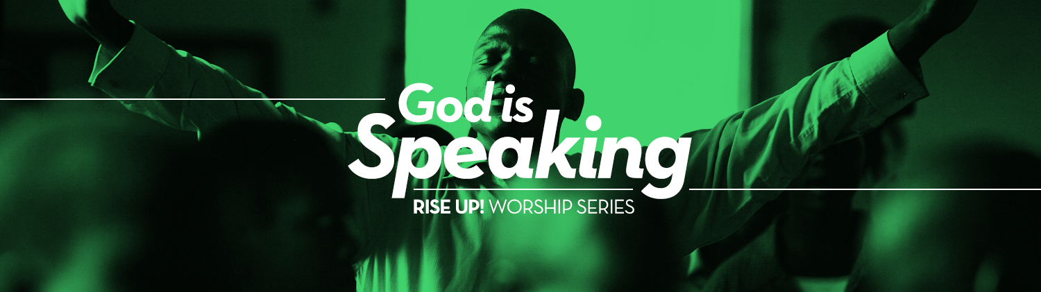 Rise Up! God is Speaking! (Transfiguration)